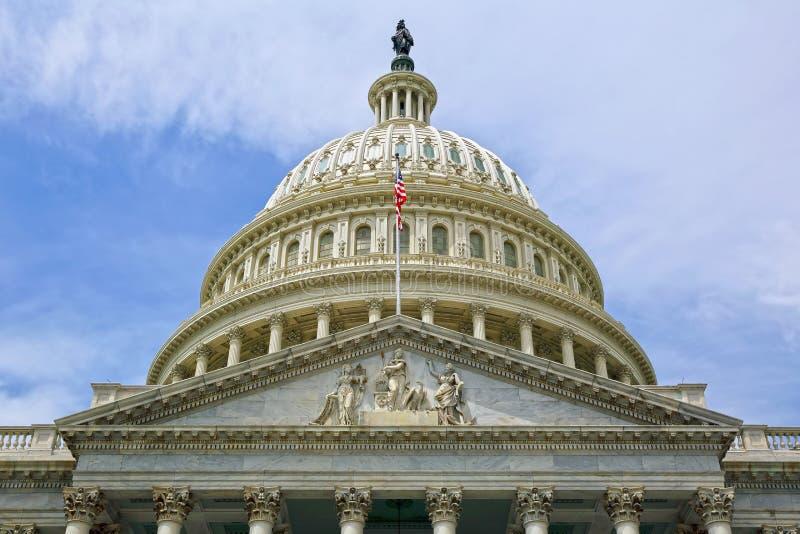 Washington DC, de Capitoolbouw De V.S. stock foto's