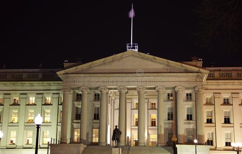 Washington DC de département du Trésor des USA photo stock