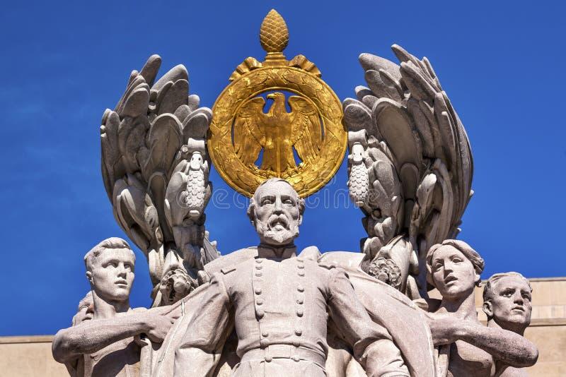 Washington DC de George Gordon Meade Memorial Civil War Statue photos libres de droits