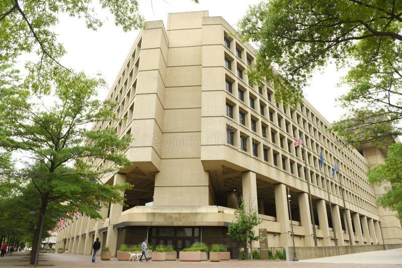 Washington, DC - 2 de junio de 2018: F.B.I., oficina federal de Investig fotos de archivo