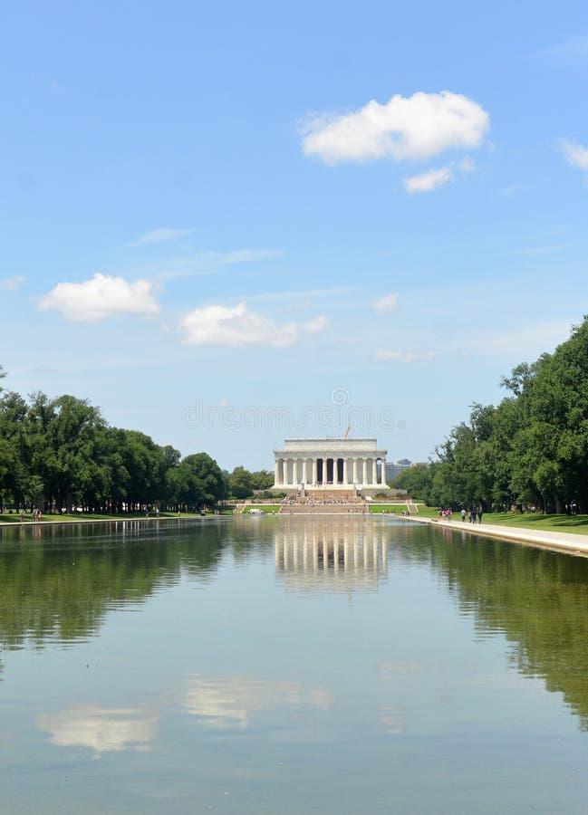 Washington, DC - 1 de junio de 2018: Lincoln Memorial en DC imagenes de archivo