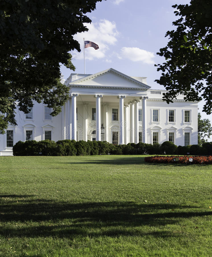 Washington DC de la Maison Blanche photo stock