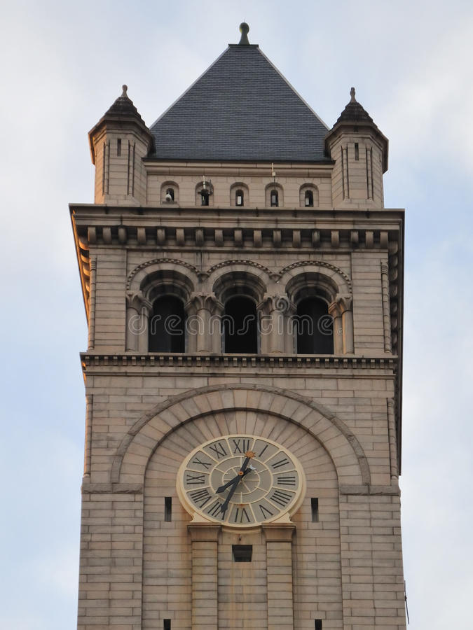 Washington DC - de Oude klokketoren van het Postkantoor royalty-vrije stock fotografie
