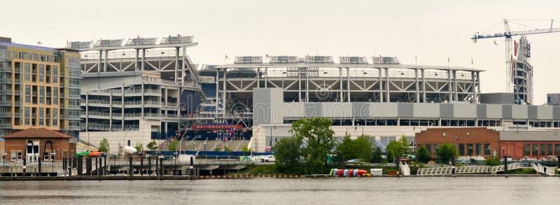 Washington DC de parc des ressortissants de façade d'une rivière de capitol images stock