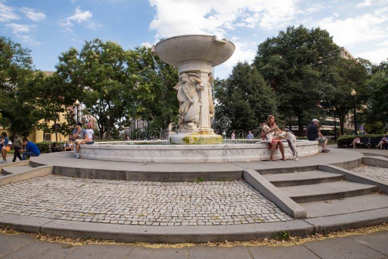 Washington DC del círculo de Du Pont imagenes de archivo