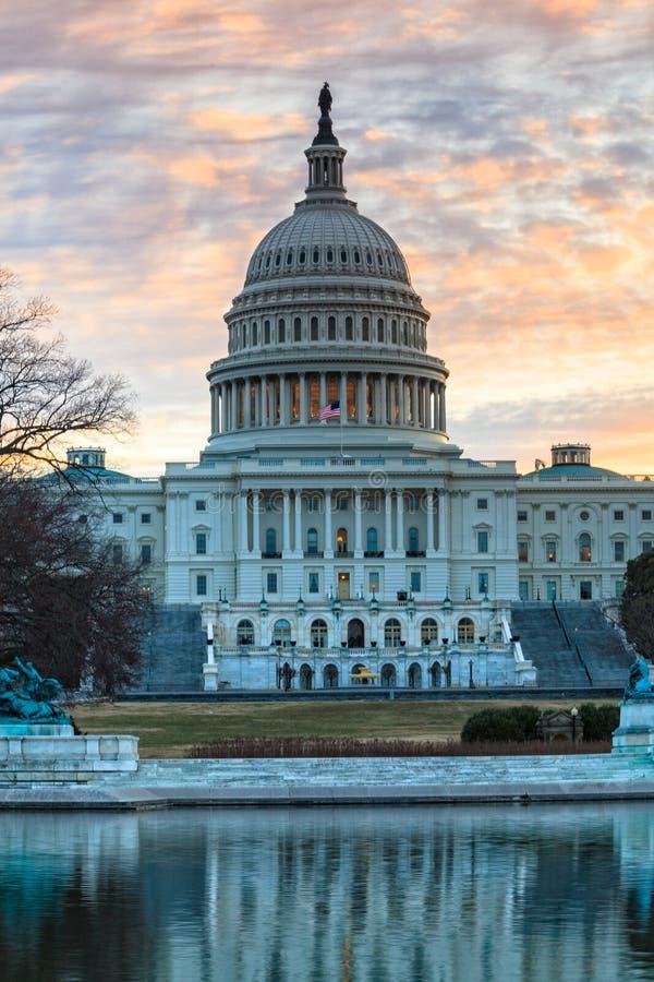 Washington DC del capitolio de Estados Unidos imagen de archivo