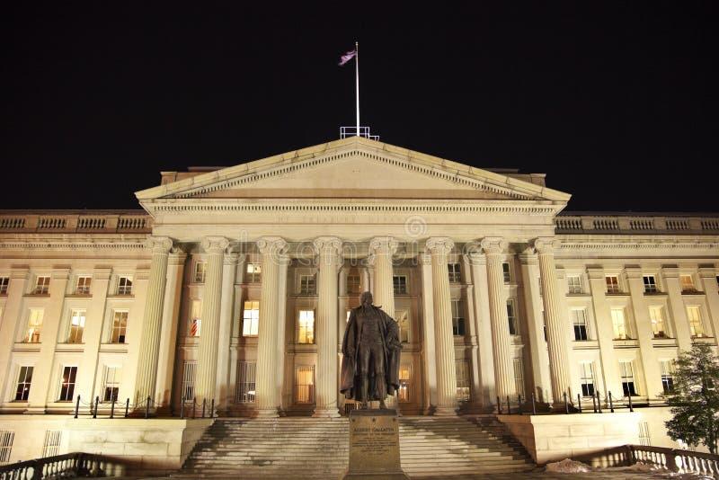 Washington DC del departamento del Tesoro de los E.E.U.U. foto de archivo libre de regalías