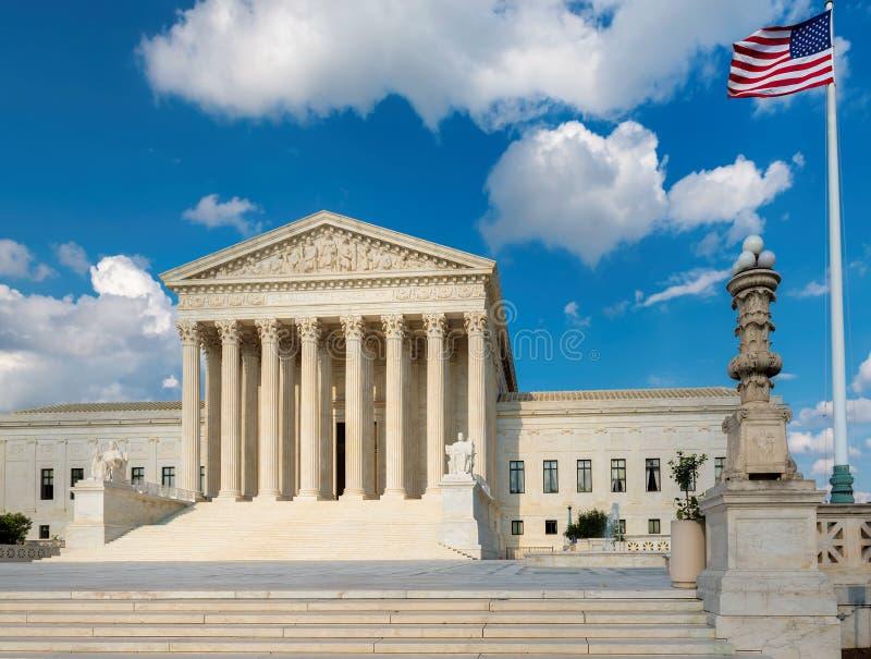 Washington DC del edificio del Tribunal Supremo de los E.E.U.U. imagen de archivo