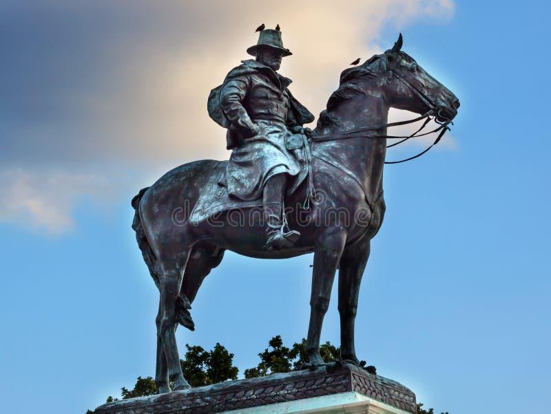 Washington DC di Capitol Hill del memoriale di guerra civile della statua degli Stati Uniti Grant