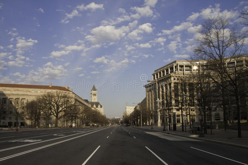 Washington DC di primo mattino immagine stock libera da diritti