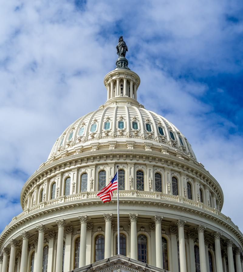 Washington DC, District of Columbia [United States US Capitol Building, Architecture details] stockfoto