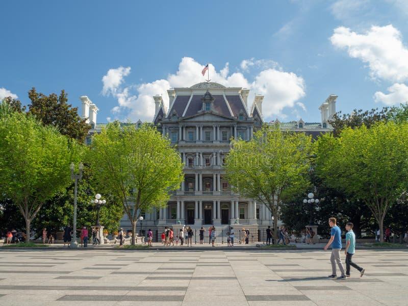 Washington DC, District de Columbia [États-Unis, Old Eisenhower Executive Office Government Building, General photos stock