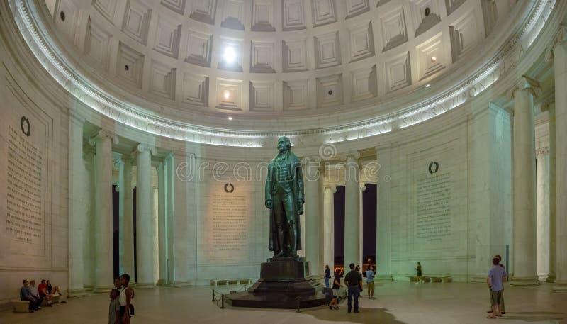 Washington DC, Distrito de Columbia [Estados Unidos de América, Memorial Thomas Jefferson, Padres Fundadores de Estados Unidos, imagen de archivo