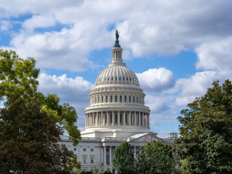 Washington DC, Distrito de Columbia [U.U.A. Capital Building, Detalhes da Arquitetura] fotos de stock