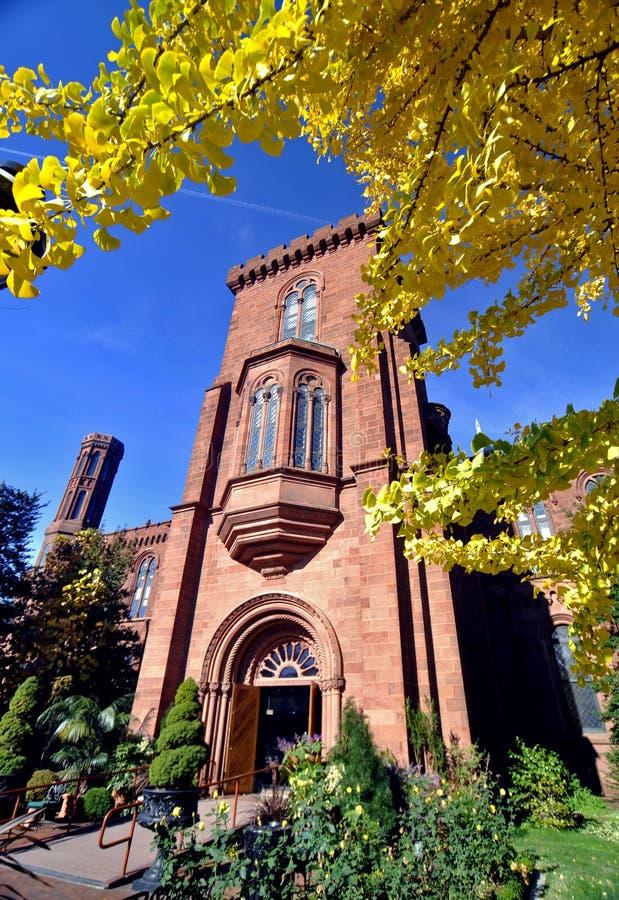 Washington DC do castelo de Smithsonian fotos de stock royalty free