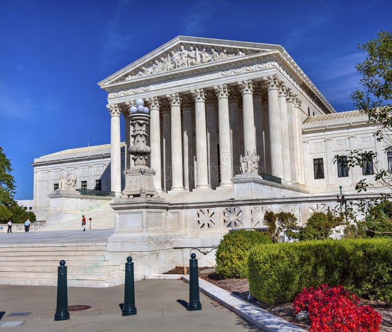 Washington DC do dia de Capitol Hill da corte suprema dos E.U. fotografia de stock