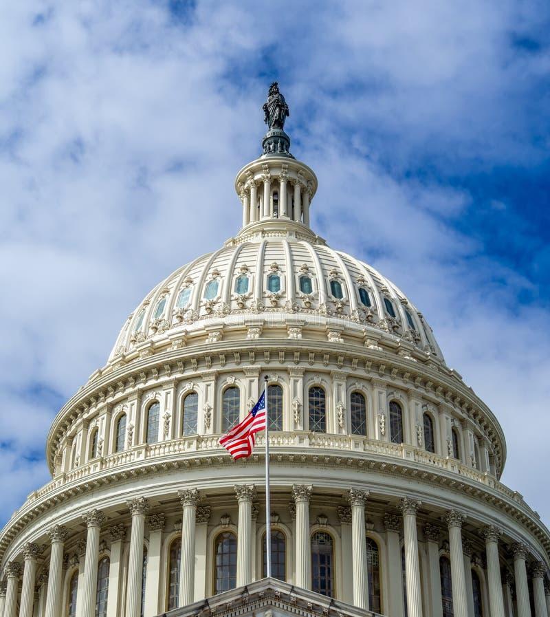 Washington DC, Dystrykt Kolumbii [United States US Capitol Building, dane architektoniczne] zdjęcie stock