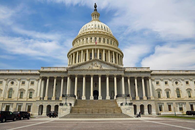 Washington DC, edificio del capitolio EE.UU. fotografía de archivo