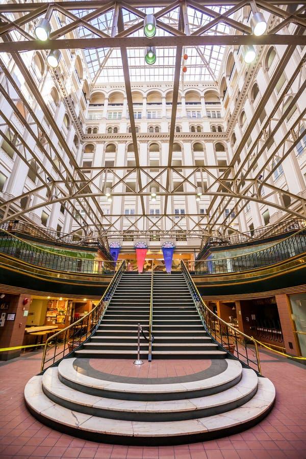 Washington DC - estação de correios velha fotos de stock