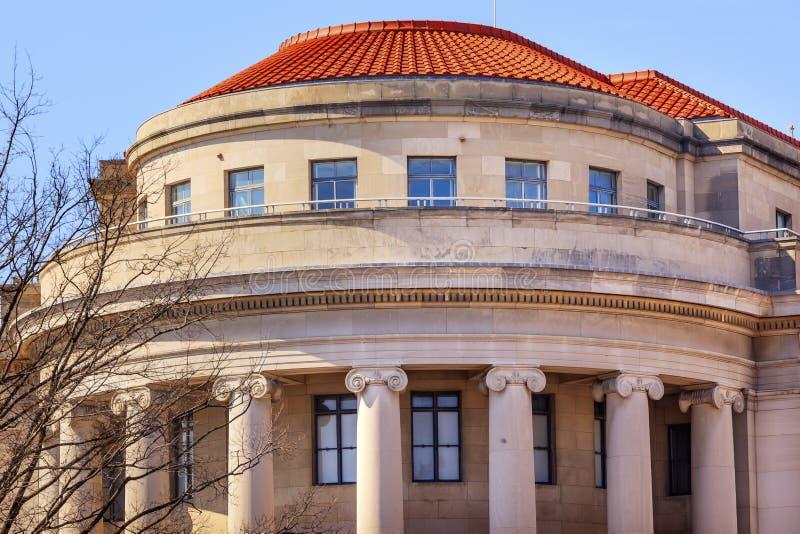 Washington DC för USA-federal handelskommittéFTC royaltyfri bild