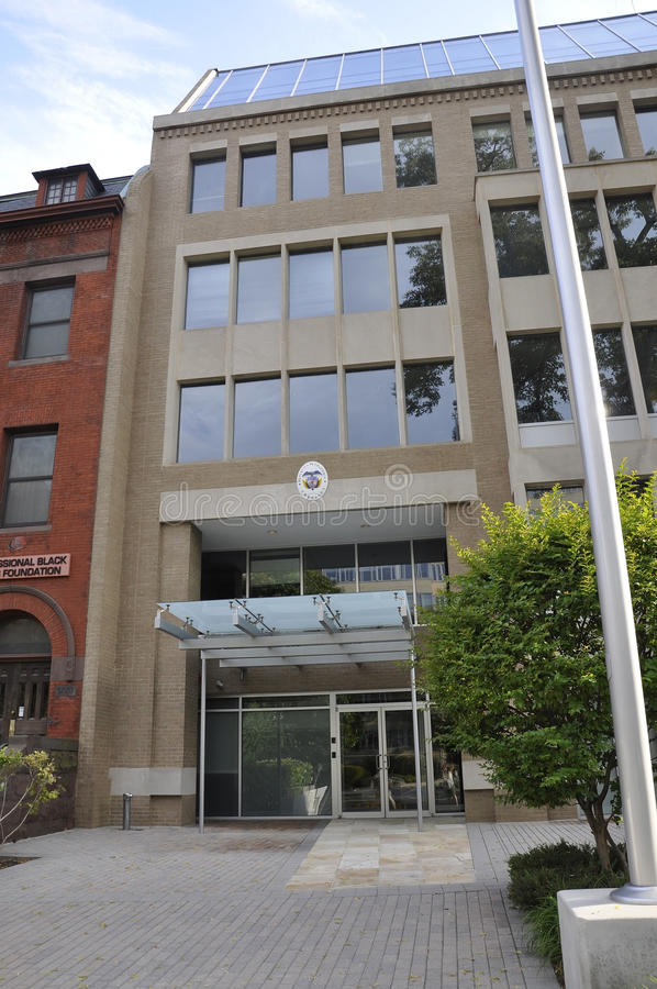Washington DC, july 5th 2017: Embassy of Colombia Building from Washington Columbia District USA stock photos