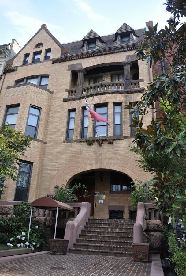 Washington DC, july 5th 2017: Embassy of Trinidad and Tobago Building from Washington Columbia District USA stock photos
