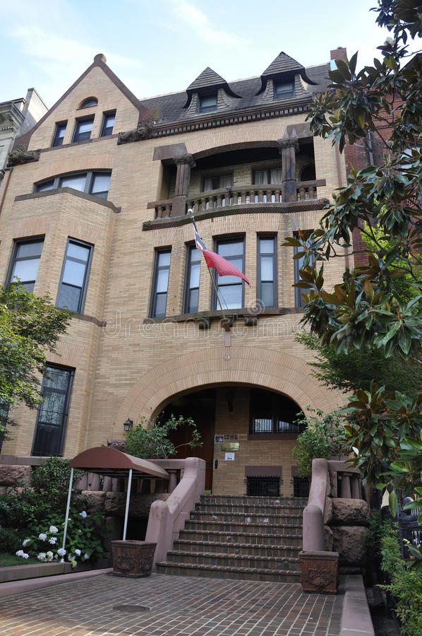 Washington DC, july 5th 2017: Embassy of Trinidad and Tobago Building from Washington Columbia District USA stock image