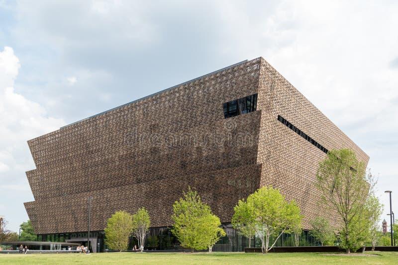 Washington DC - 12 Juni, 2017 Nationaal Museum van Afrikaanse Amerikaanse Geschiedenis en Cultuur royalty-vrije stock foto