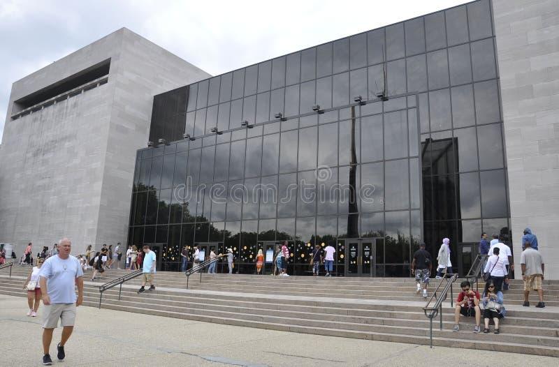 Washington DC, le 5 août : Air de Smithsonien et musée d'espace de Washington District de Colombie photographie stock libre de droits