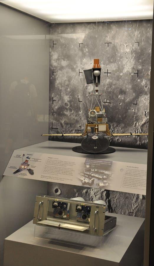 Washington DC, le 5 août : Garde forestière satellite en air national de Smithonian et musée d'espace de Washington DC aux Etats- image libre de droits