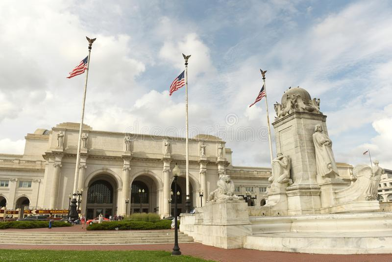 Washington, DC - May 31, 2018: Washington Union Station in Washington, DC. stock photo