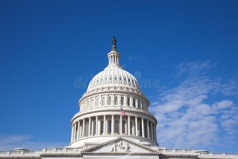Washington DC memorável de construção de Lincoln no dia ensolarado imagem de stock royalty free