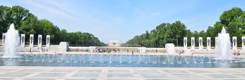 Washington DC, monumento de la Segunda Guerra Mundial imagen de archivo libre de regalías