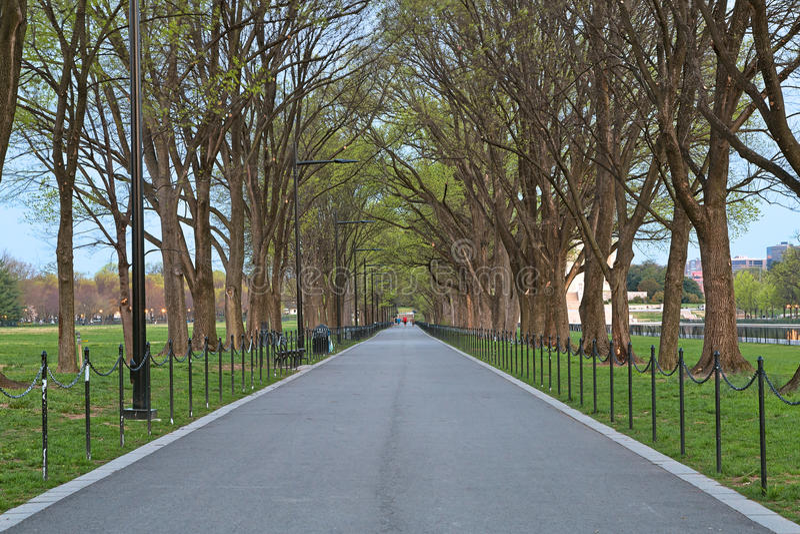 Washington DC-Promenade lizenzfreie stockbilder