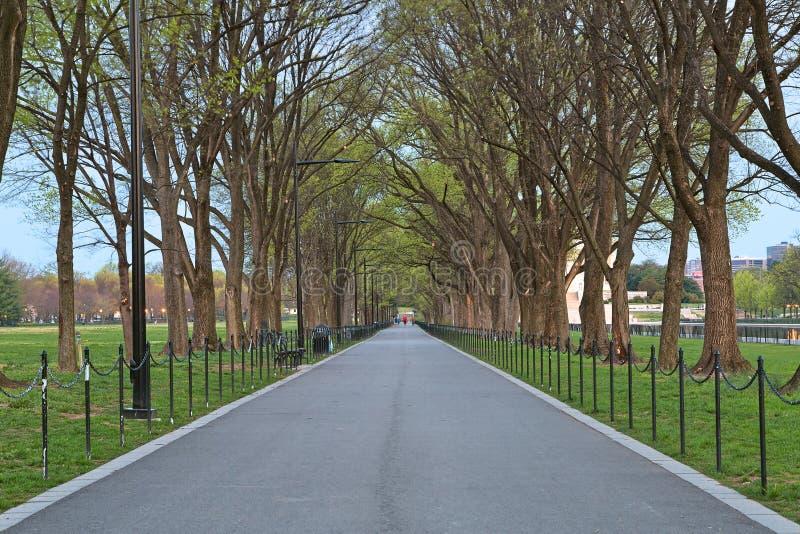 Washington DC Promenade royalty free stock images