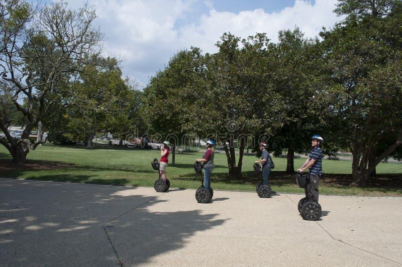 Washington DC Segway turnerar arkivbild