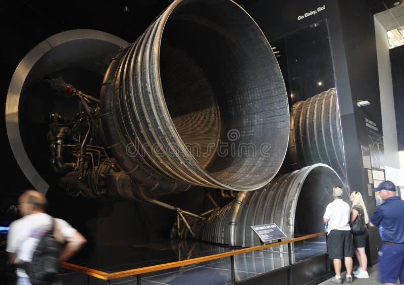 Washington DC, Sierpień 5th: Smithonian Krajowego powietrza i Astronautycznego muzeum wnętrze od washington dc w usa obraz stock