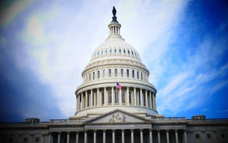 Washington DC, Stati Uniti 2 febbraio 2017 - Capitol Hill B fotografie stock libere da diritti