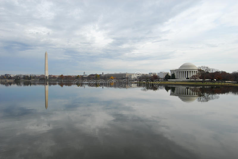 Download Washington DC Tidal Basin & Monuments Stock Image - Image: 22261663