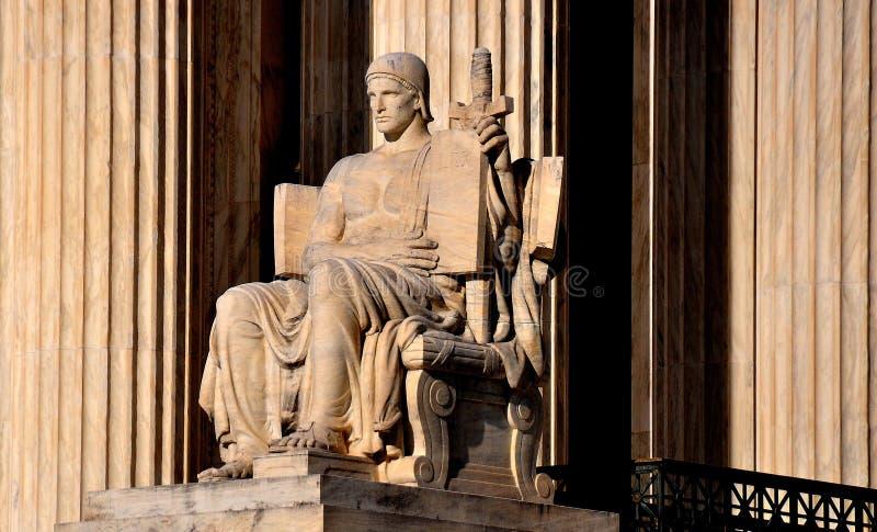 Washington, DC: Tribunal Supremo de los Estados Unidos imagen de archivo