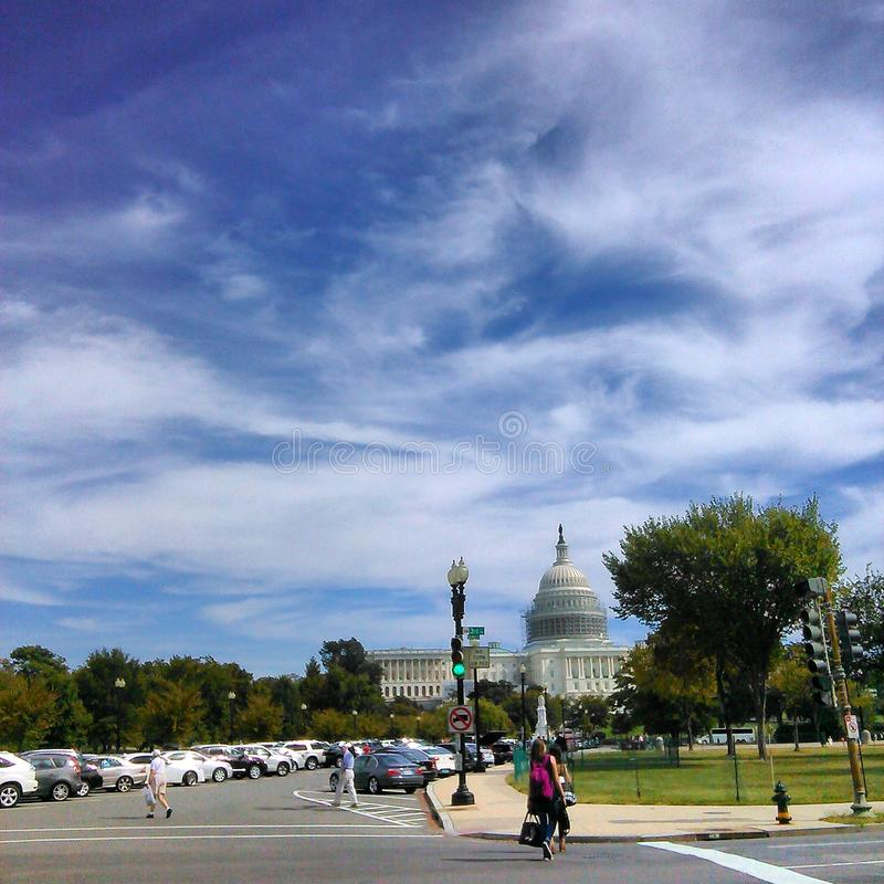 Washington DC trip royalty free stock image