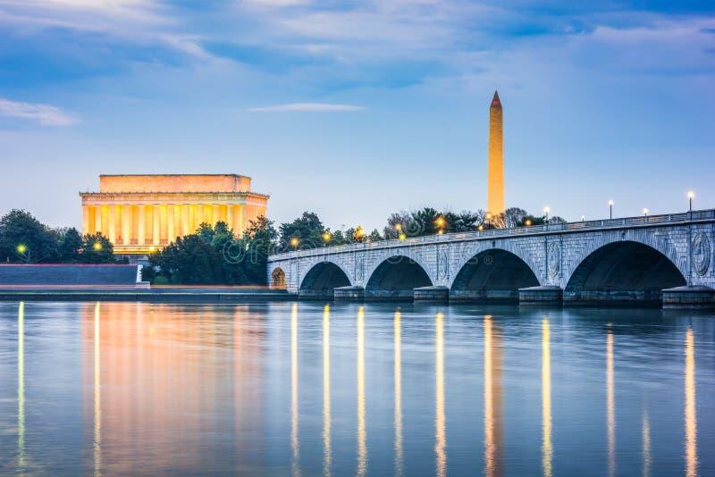 Washington DC, USA royaltyfri fotografi