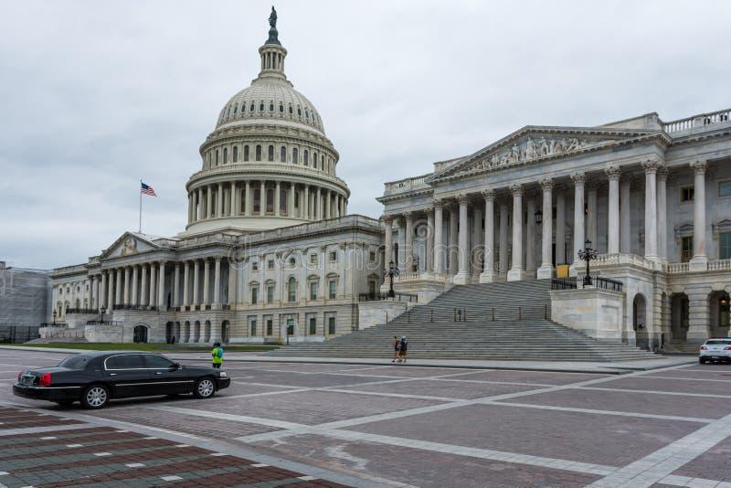 Washington DC, USA - June 9, 2019: United States Capitol Building east facade stock photos