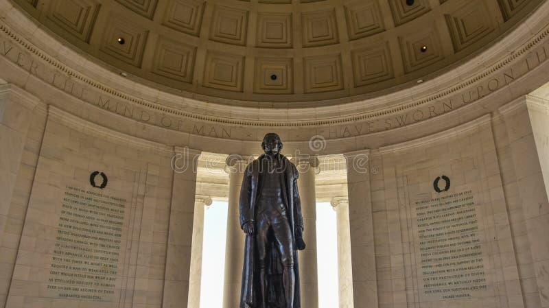 Washington DC, USA. View of Thomas Jefferson Memorial. royalty free stock photo