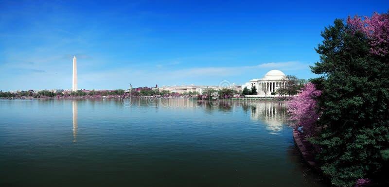 Washington DCpanorama stockfotografie
