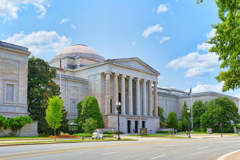 Washington, de V.S., National Gallery van Art. stock afbeeldingen