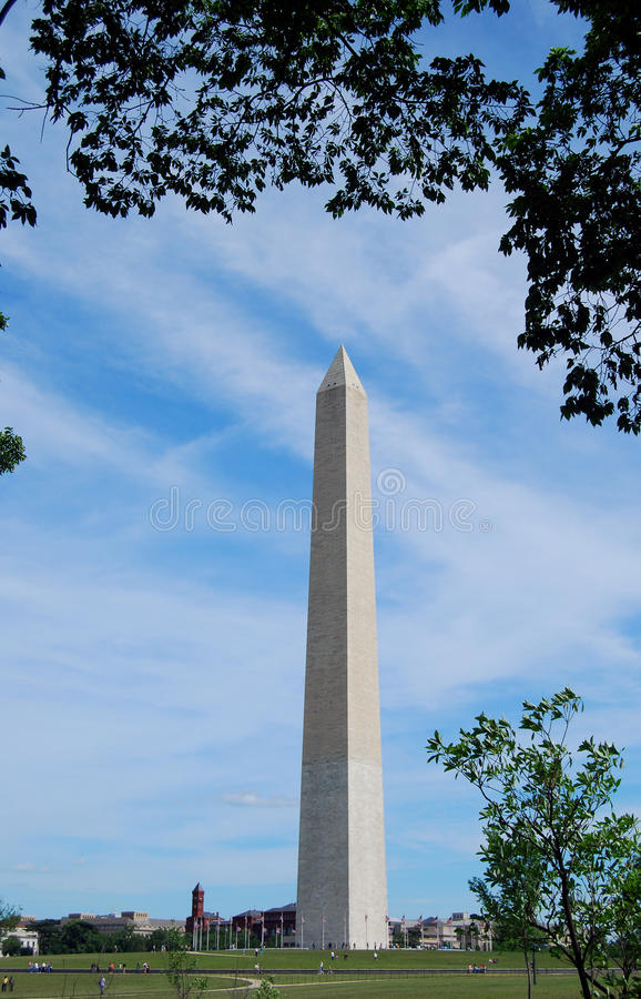 Washington-Denkmal stockfoto