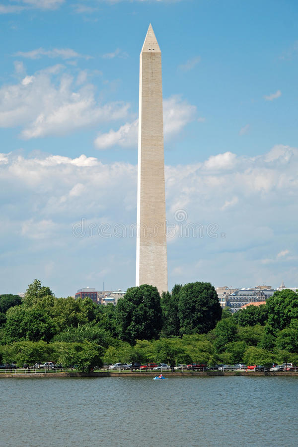 Washington-Denkmal im Washington DC stockfoto