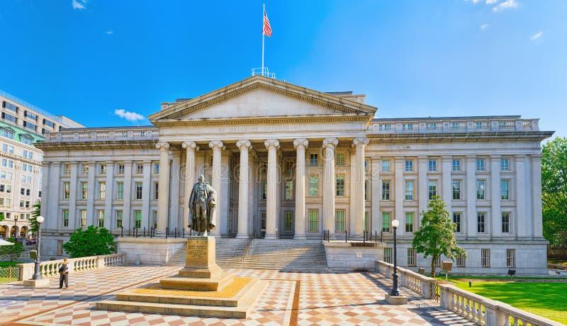 Washington, departamento del Tesoro de los E.E.U.U., de los E.E.U.U. y Inspector General de foto de archivo libre de regalías