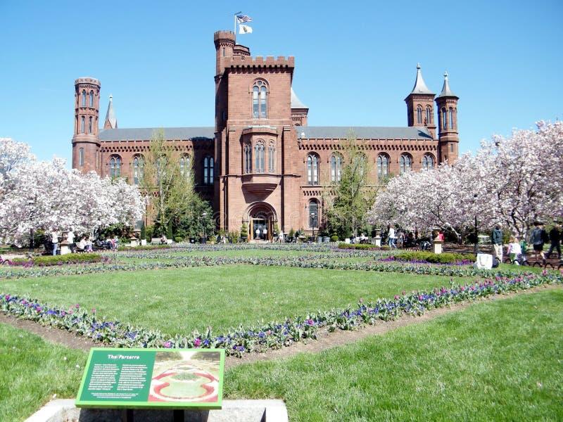 Washington el castillo 2010 de Smithsonian imagen de archivo